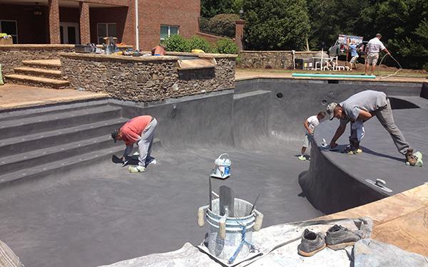 Pool Major Renovations